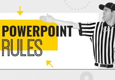 The six rules of impactful PowerPoint design