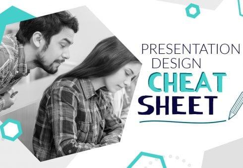 The presentation design cheat sheet