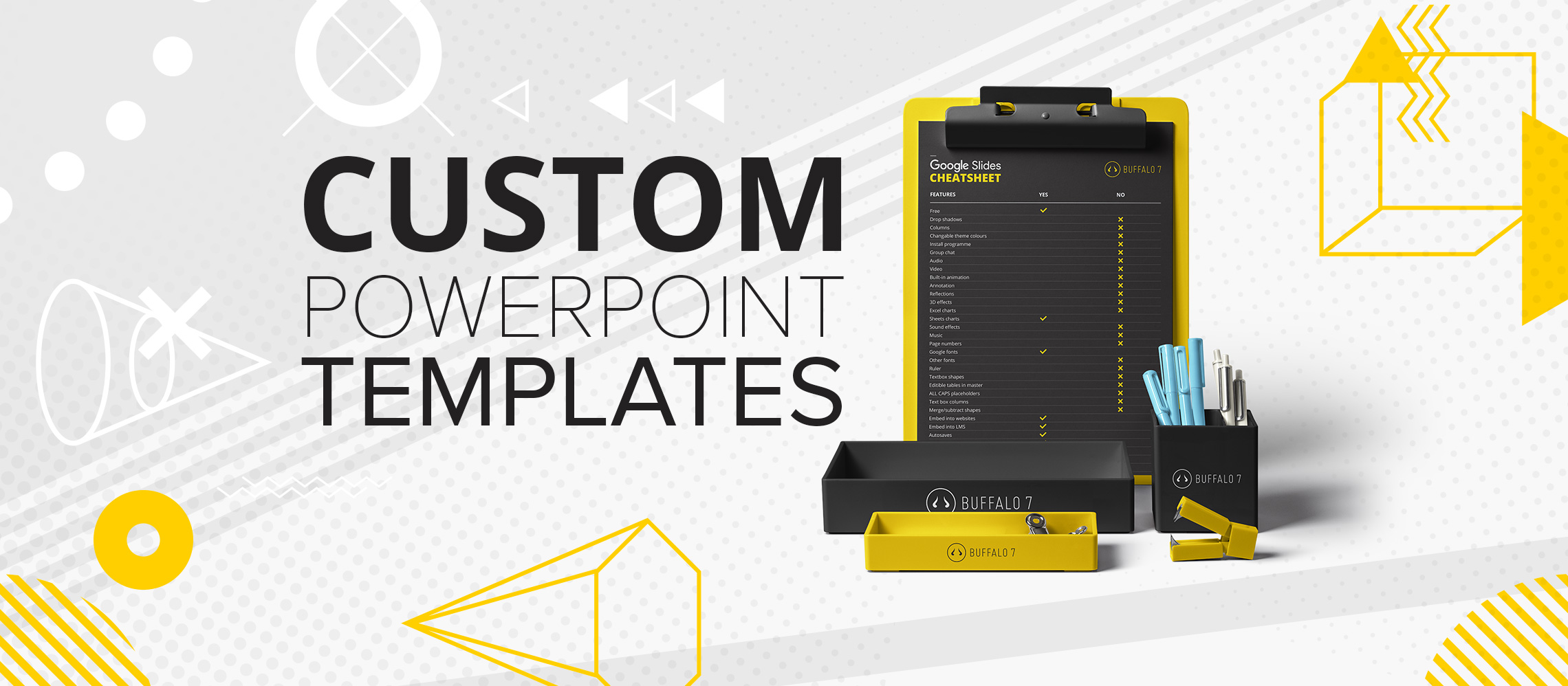 How to create a custom powerpoint template buffalo 7 for How to customize a powerpoint template