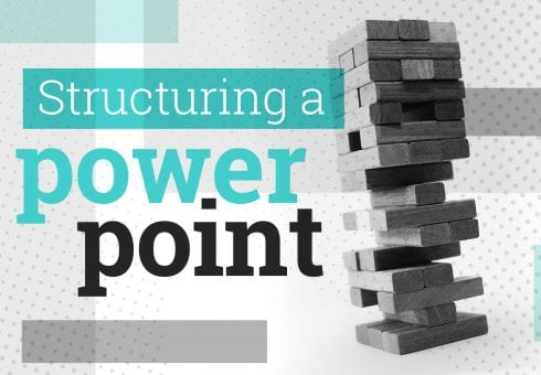 How to structure a PowerPoint presentation