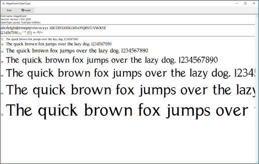 Font Previewer