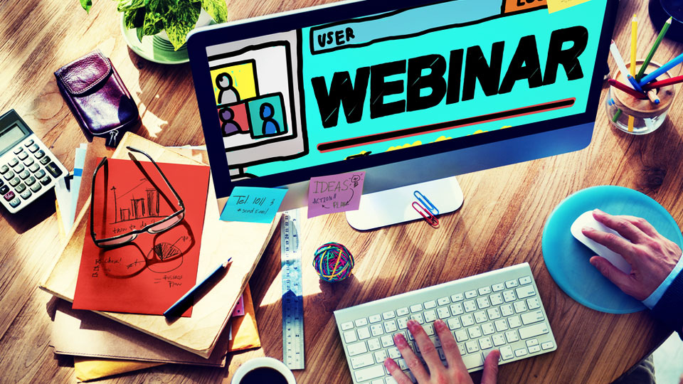 turn your presentation into a webinar