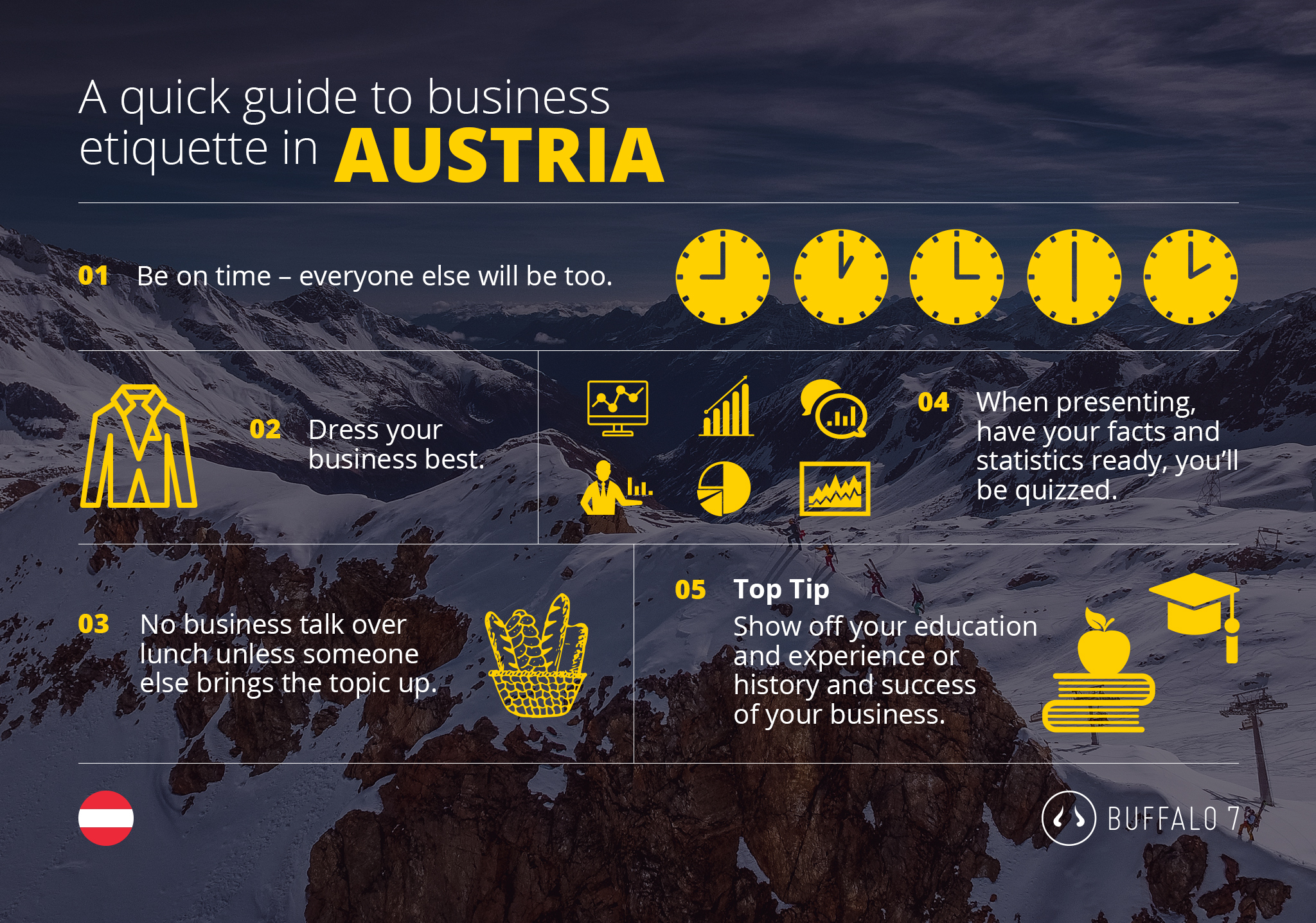 tips on austrian business etiquette