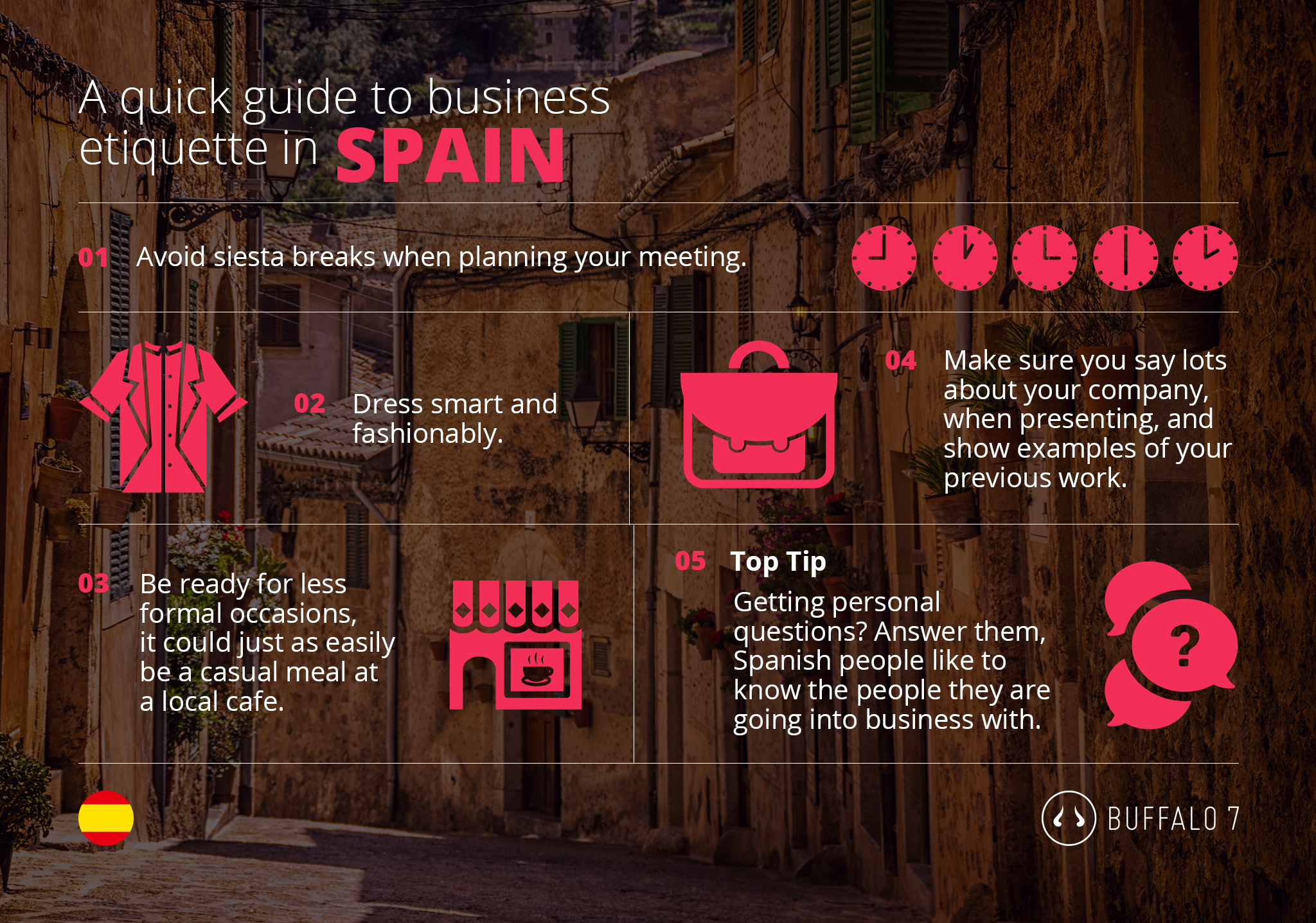 tips on spanish business etiquette