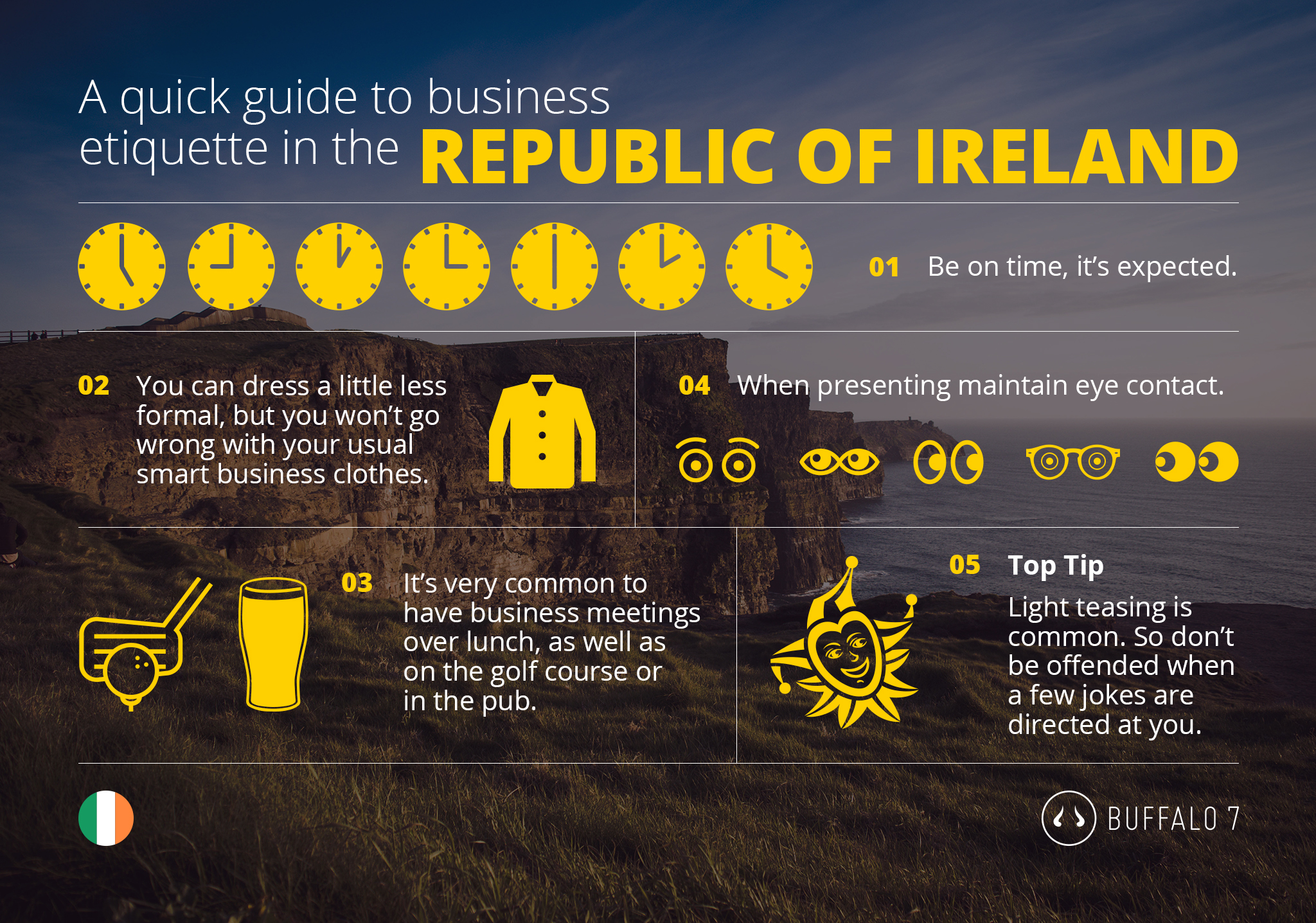 tips on irish business etiquette