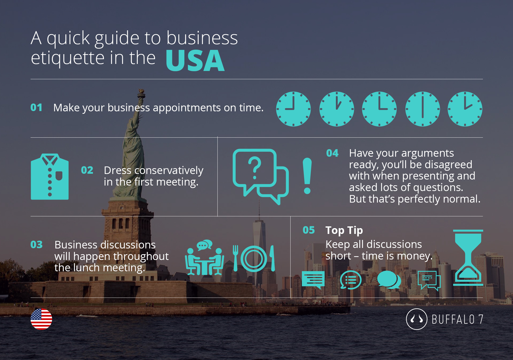 tips on american business etiquette