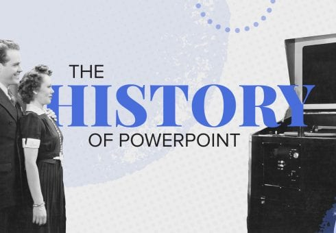 The history of PowerPoint