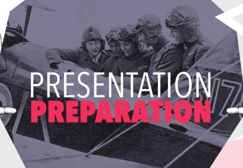 How to prepare for a presentation