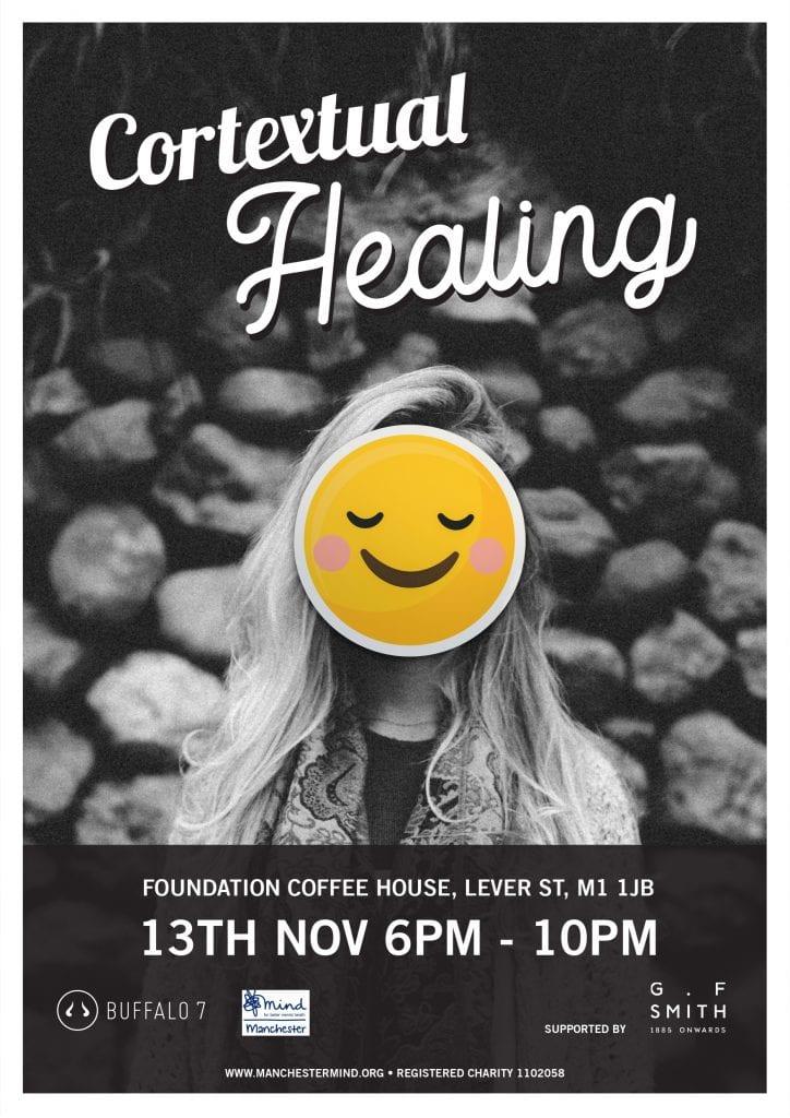 contextual healing art event poster