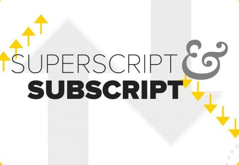 How to insert superscript and subscript in PowerPoint
