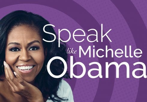Learn to speak like Michelle Obama