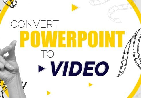 How to convert PowerPoint to video