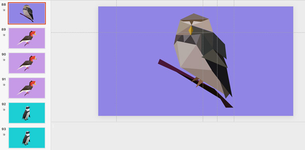 PowerPoint Morph Edit Window