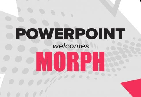 PowerPoint welcomes Morph