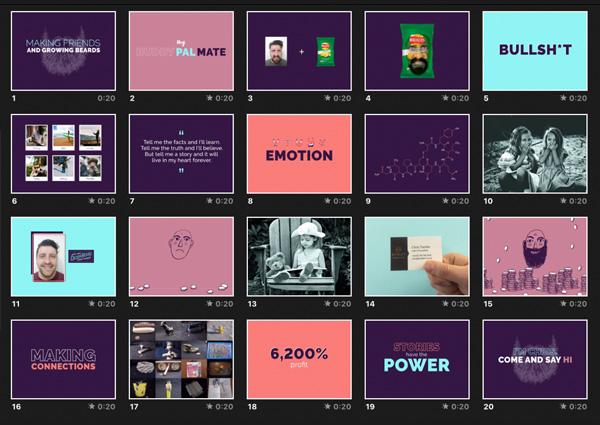 20 slide PechaKucha presentation