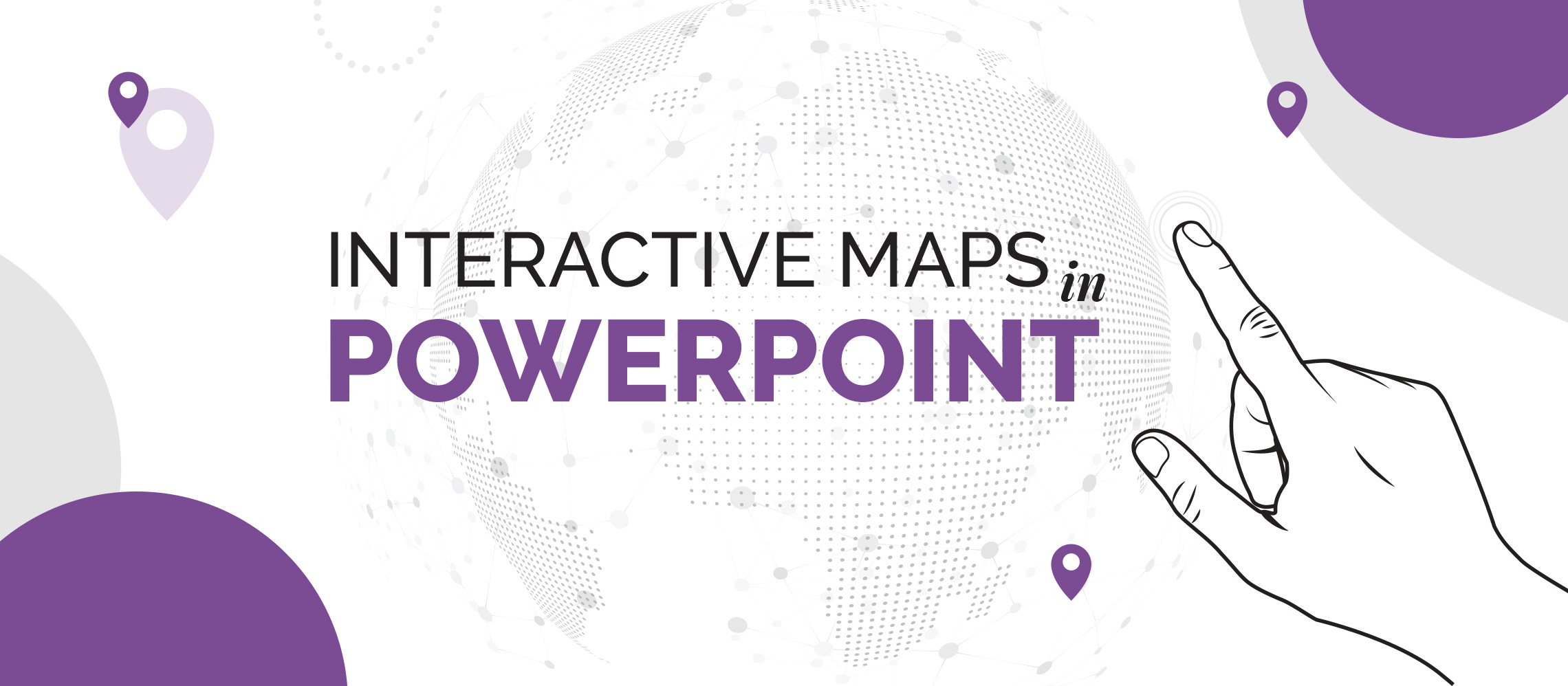 Map Of Uk For Powerpoint.How To Create An Interactive Map In Powerpoint Buffalo 7