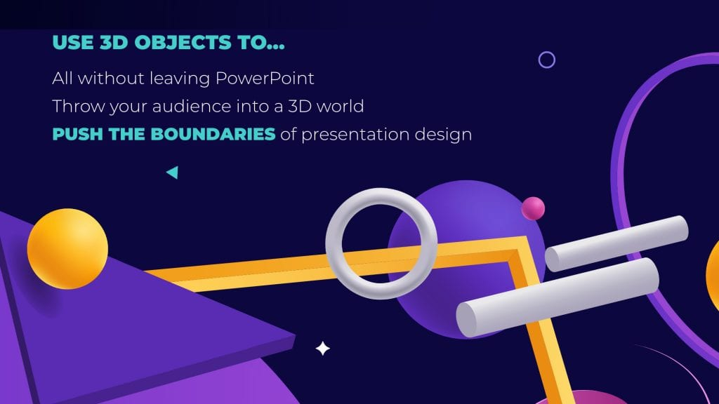 3D objects in PowerPoint