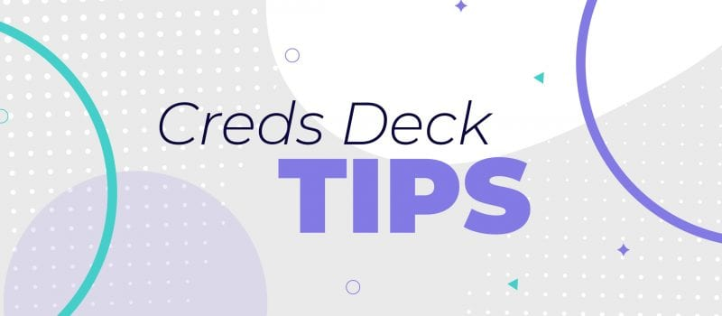 9 tips to create a creds deck that connects with potential clients