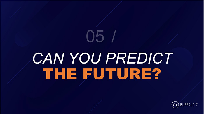 Predict the future PPT pub quiz round