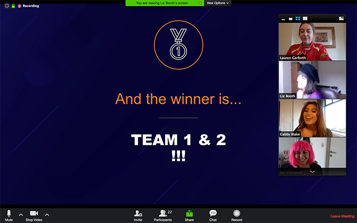 pub quiz winner