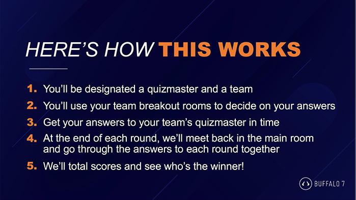 Party party pub quiz rules