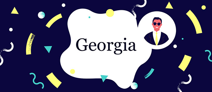 Georgia font for PowerPoint
