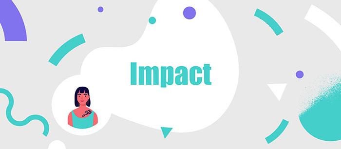 Impact presentation font