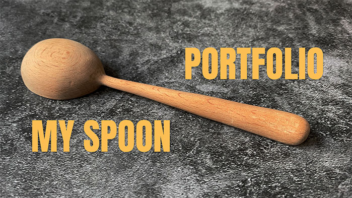 Spoon whittling presentation slide
