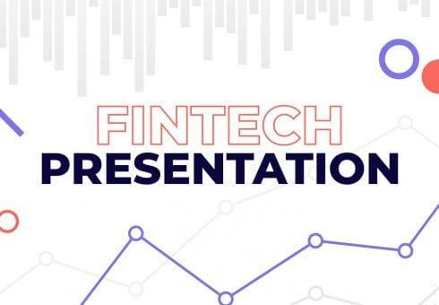Fintech presentation: put down the free template
