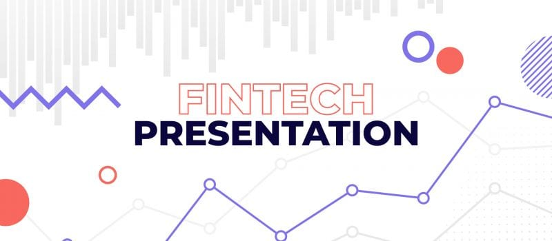 Fintech presentation: put down the free template