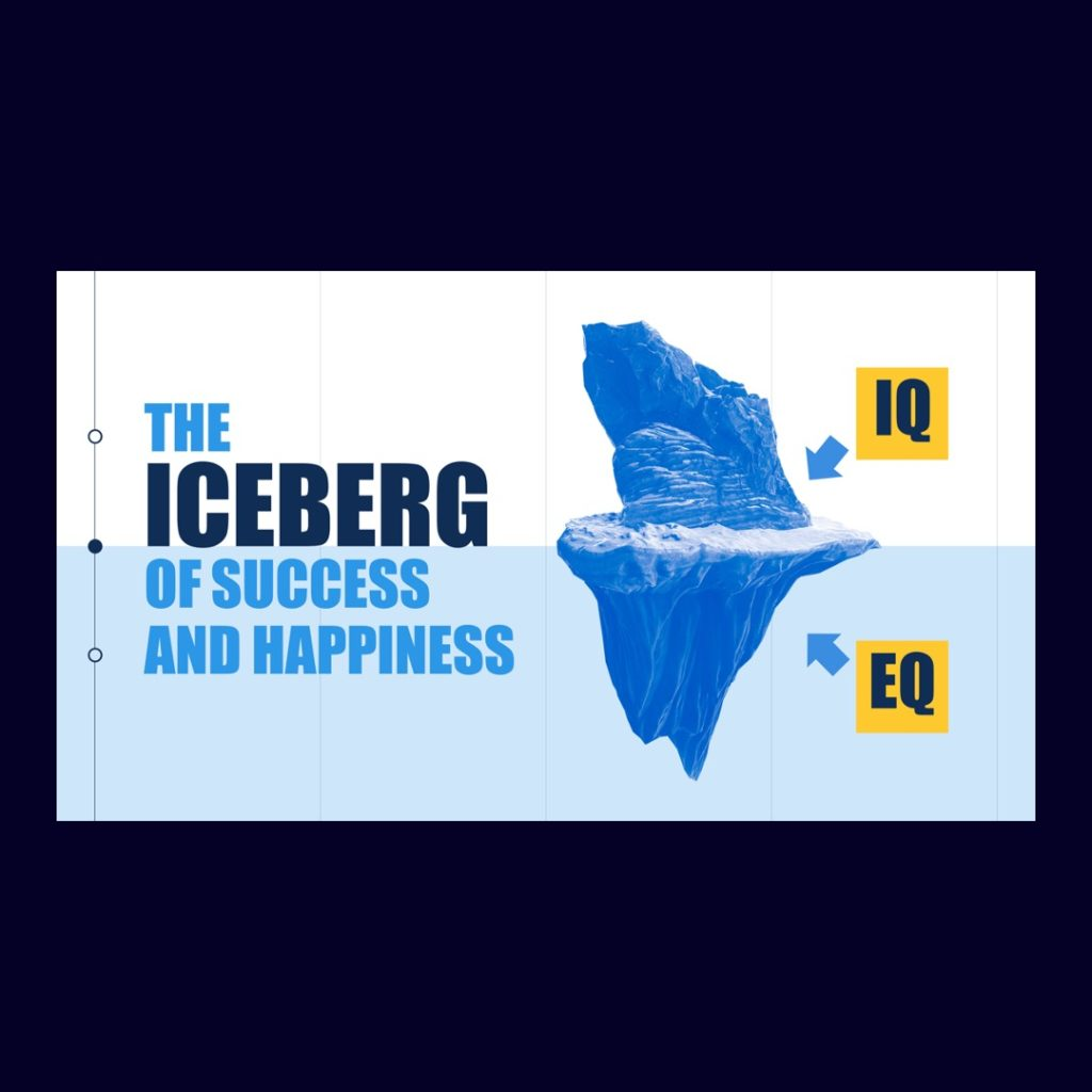 Iceberg Image Presentation Slide