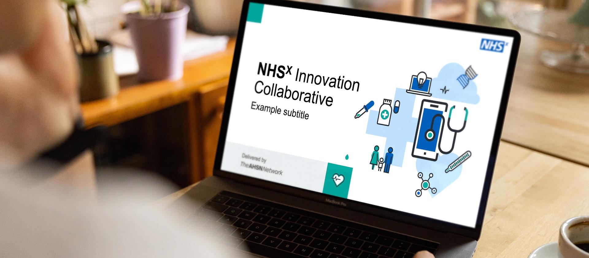 NHS Presentation Title Slide