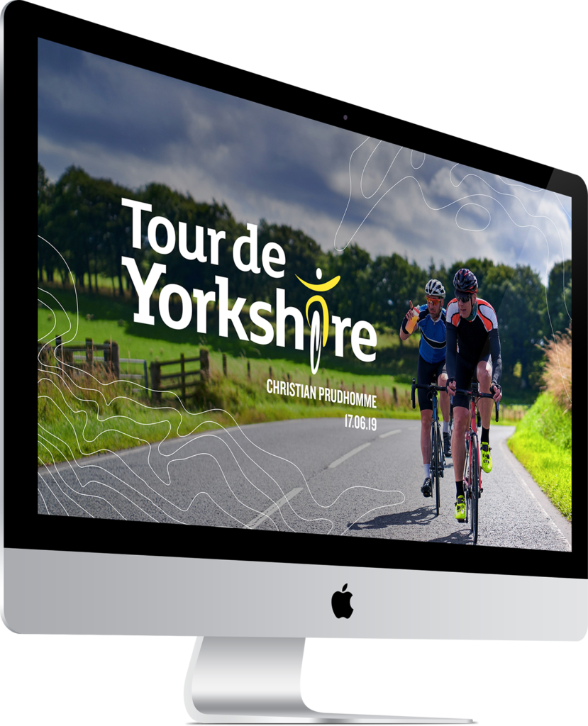 Tour de Yorkshire PPT Title Slide