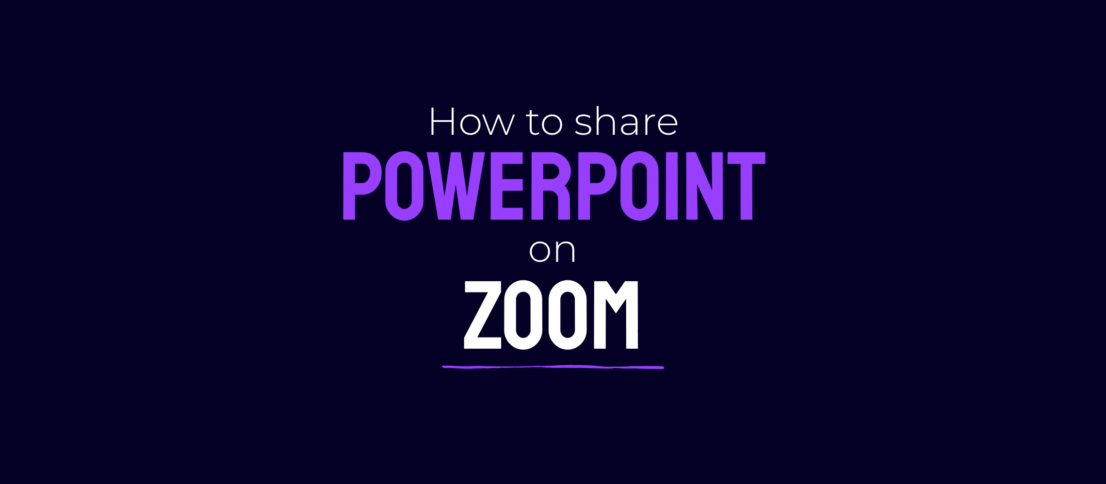 How to share PowerPoint on Microsoft Teams and Zoom