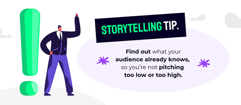 Storytelling tip for training effective sales teams